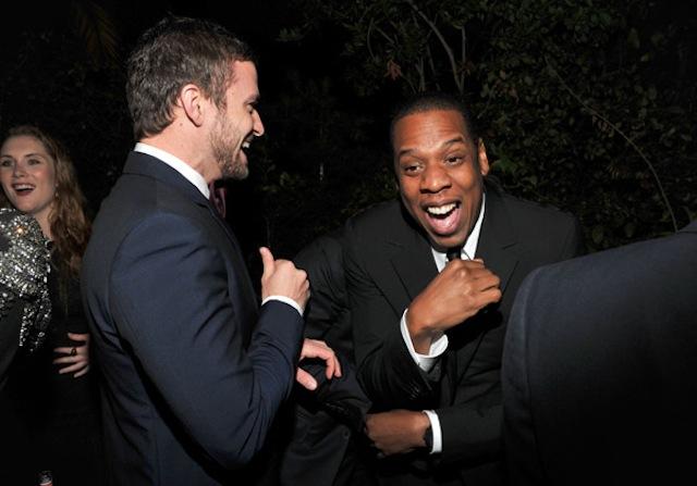 Jay-Z Justin Timberlake Suit Tie Lavish World