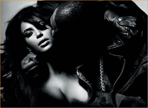 Kim Kanye Knight at L'Officiel Hommes (7)