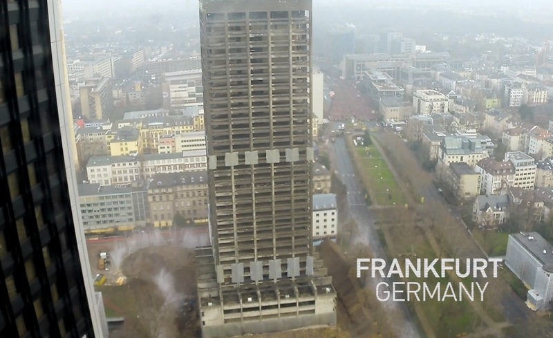 GoPro Building Demolition (AfE-Turm FFM)