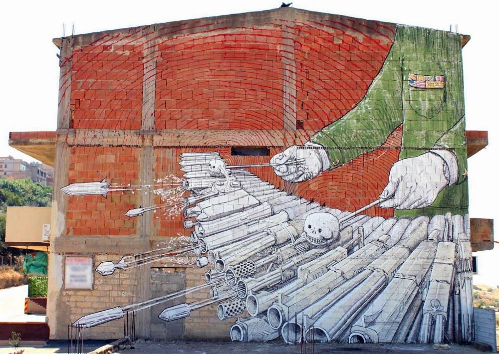 10 Amazing Street Art Pieces of 2014  (9)