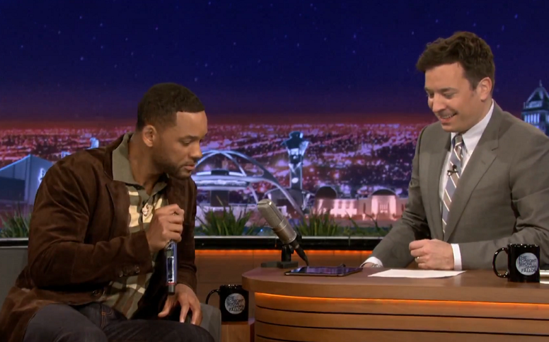Will Smith & Jimmy Fallon Beatbox and Freestyle It Takes Two