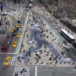 Creating a Large-Scale Pasting in Manhattan (Timelapse)