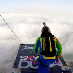 Base Jump off the Second Highest Building in the World