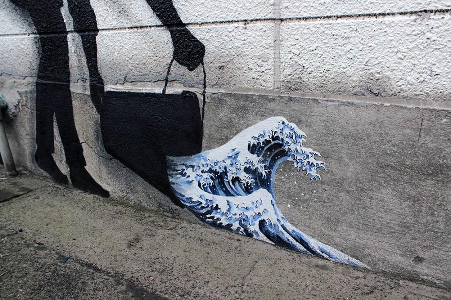 Streetart New Paintings by Artist Pejac (2)