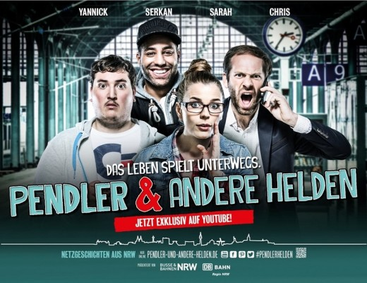 "Film ab für Peter Thorwarths neue Webserie ""Pendler & andere Helden"" (Sponsored)"