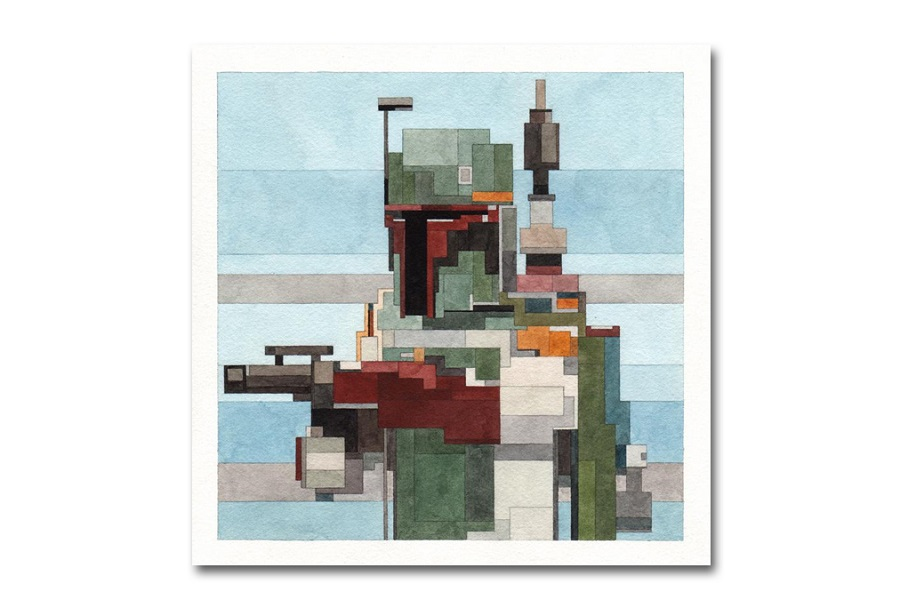 Star Wars Prints by Artist Adam Lister (4)