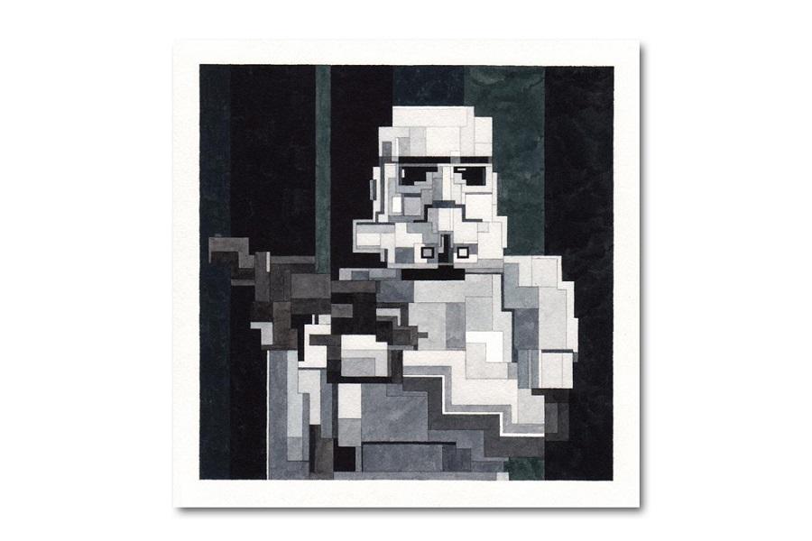 Star Wars Prints by Artist Adam Lister (5)