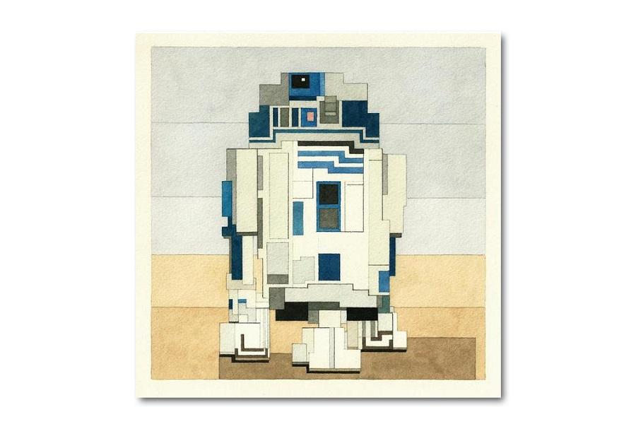 Star Wars Prints by Artist Adam Lister (6)