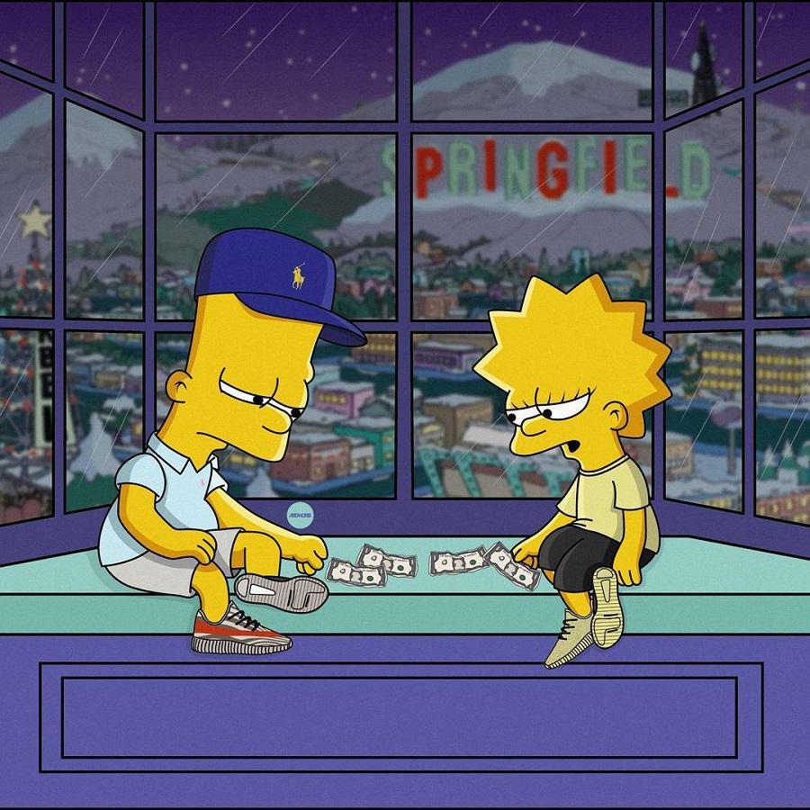 The Simpson As Sneakerheads (by Artist Olga Wójcik) (2)