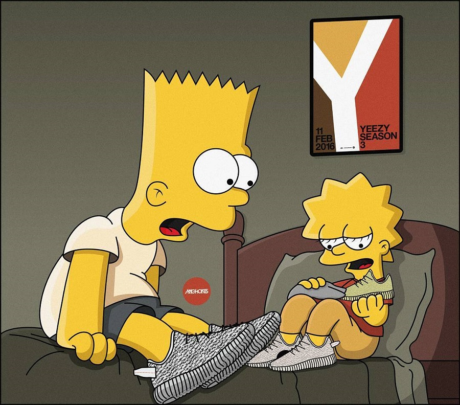 The Simpson As Sneakerheads (by Artist Olga Wójcik) (3)